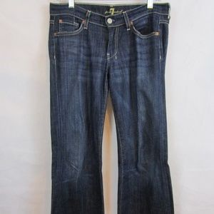 7 For All Mankind Size 27 Dojo Flare Jeans